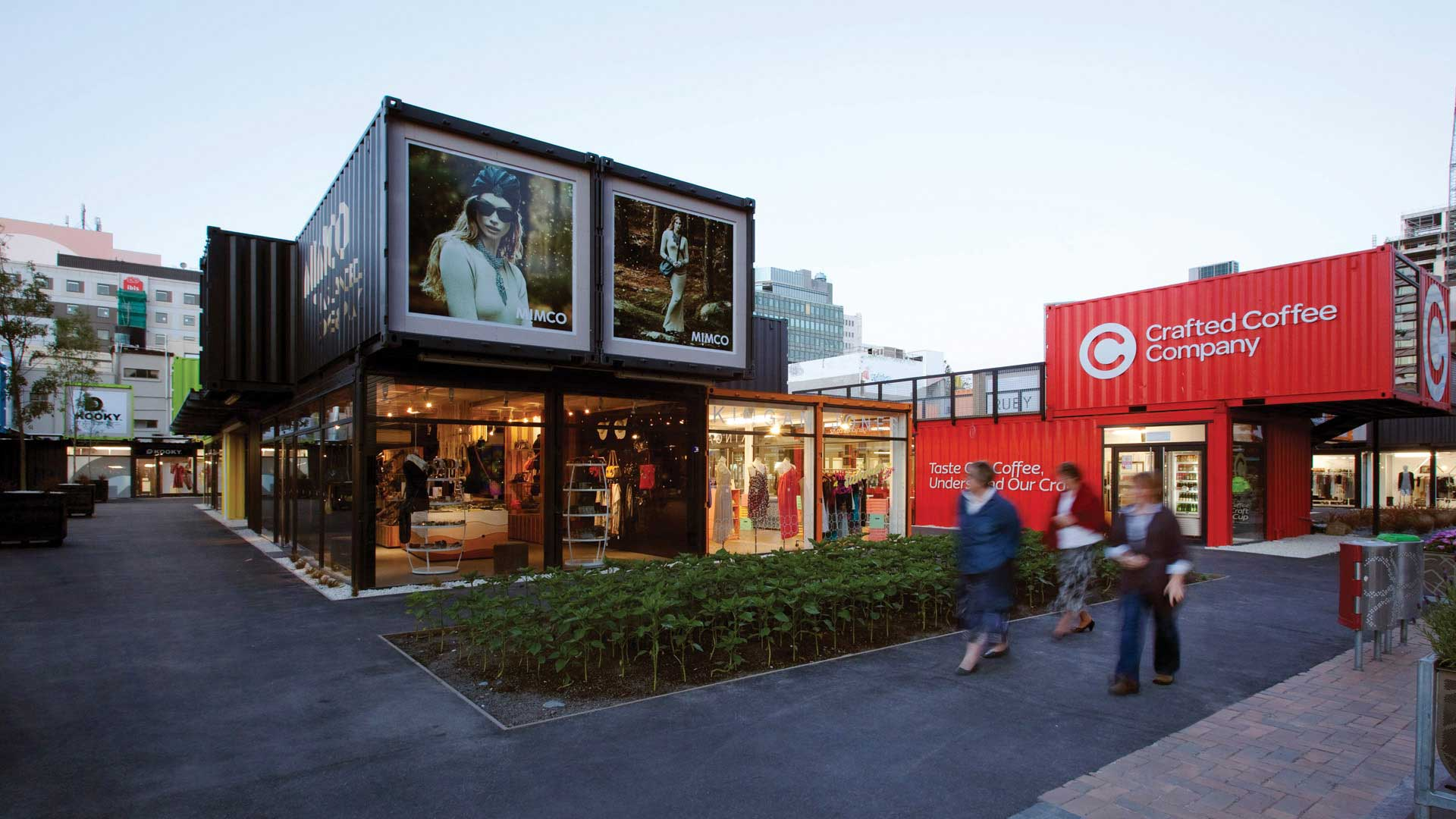 mall din containere christchurch